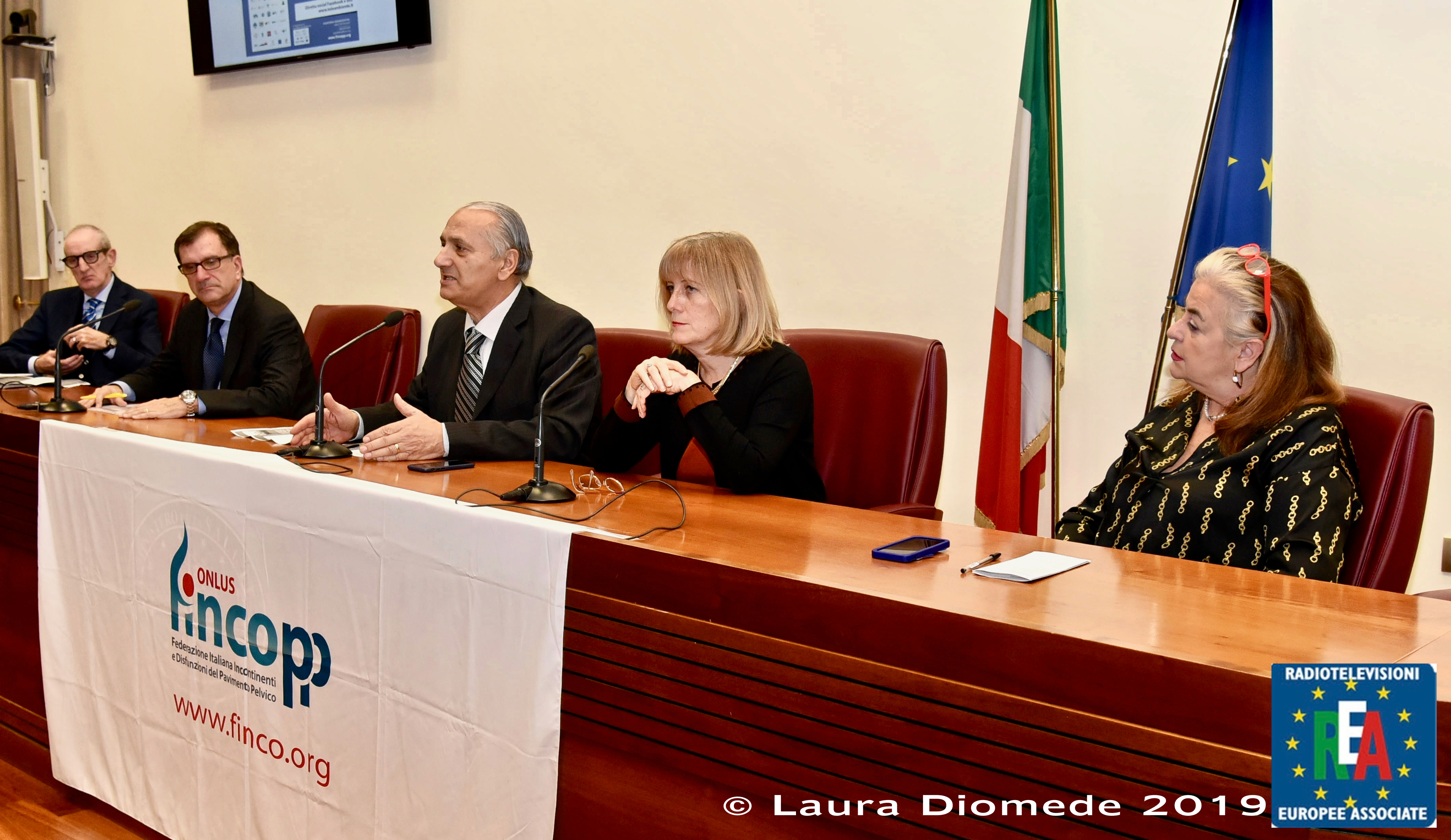 1 - Francesco Diomede apre i lavori