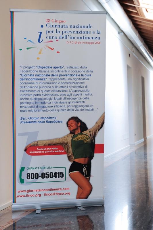 28.6.2012 Giornata Nazionale per lo studio e la cura dell'incontinenza