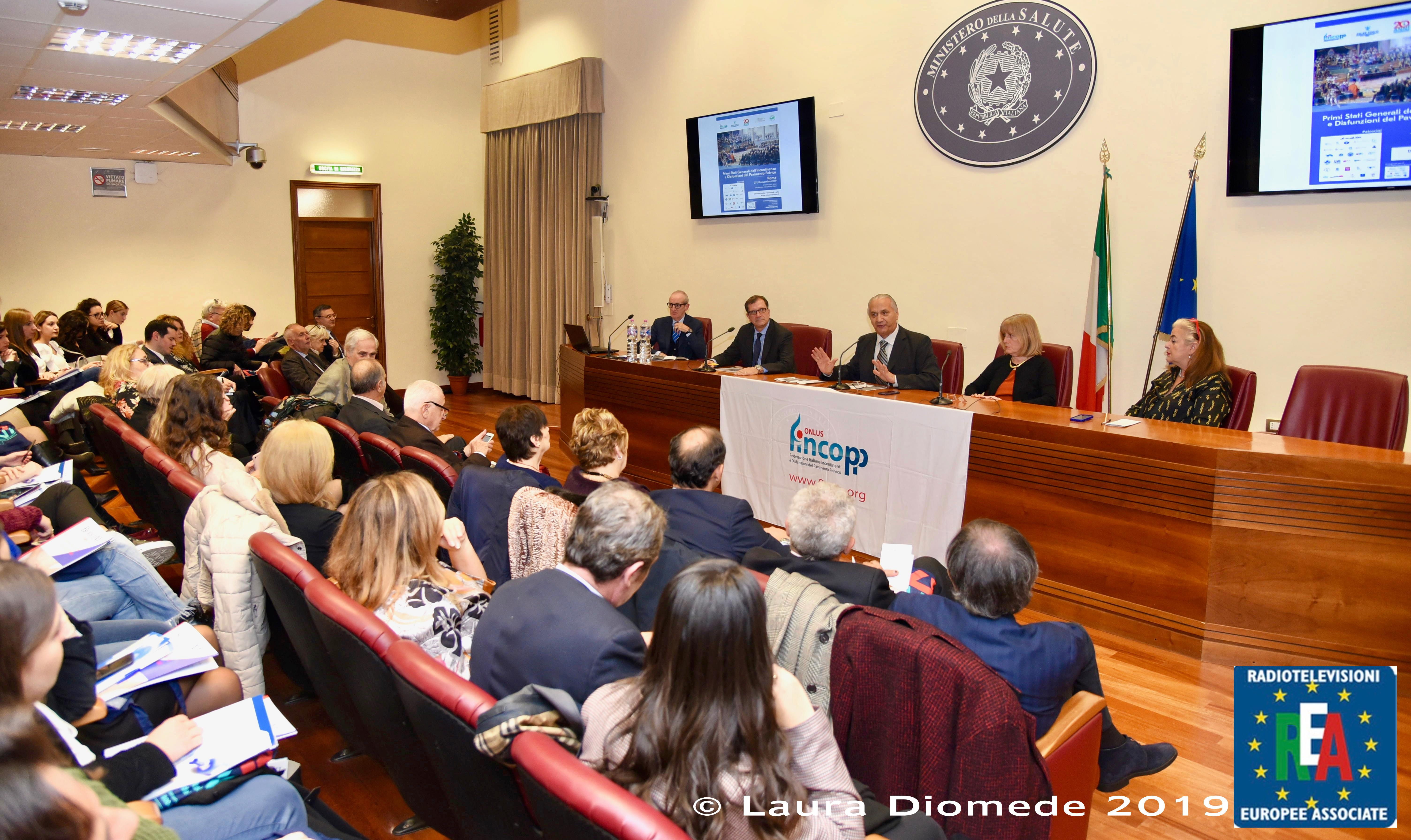 3 - Il lavori si tengono al Ministero della Salute, nell'Auditorium Cosimo Piccinno