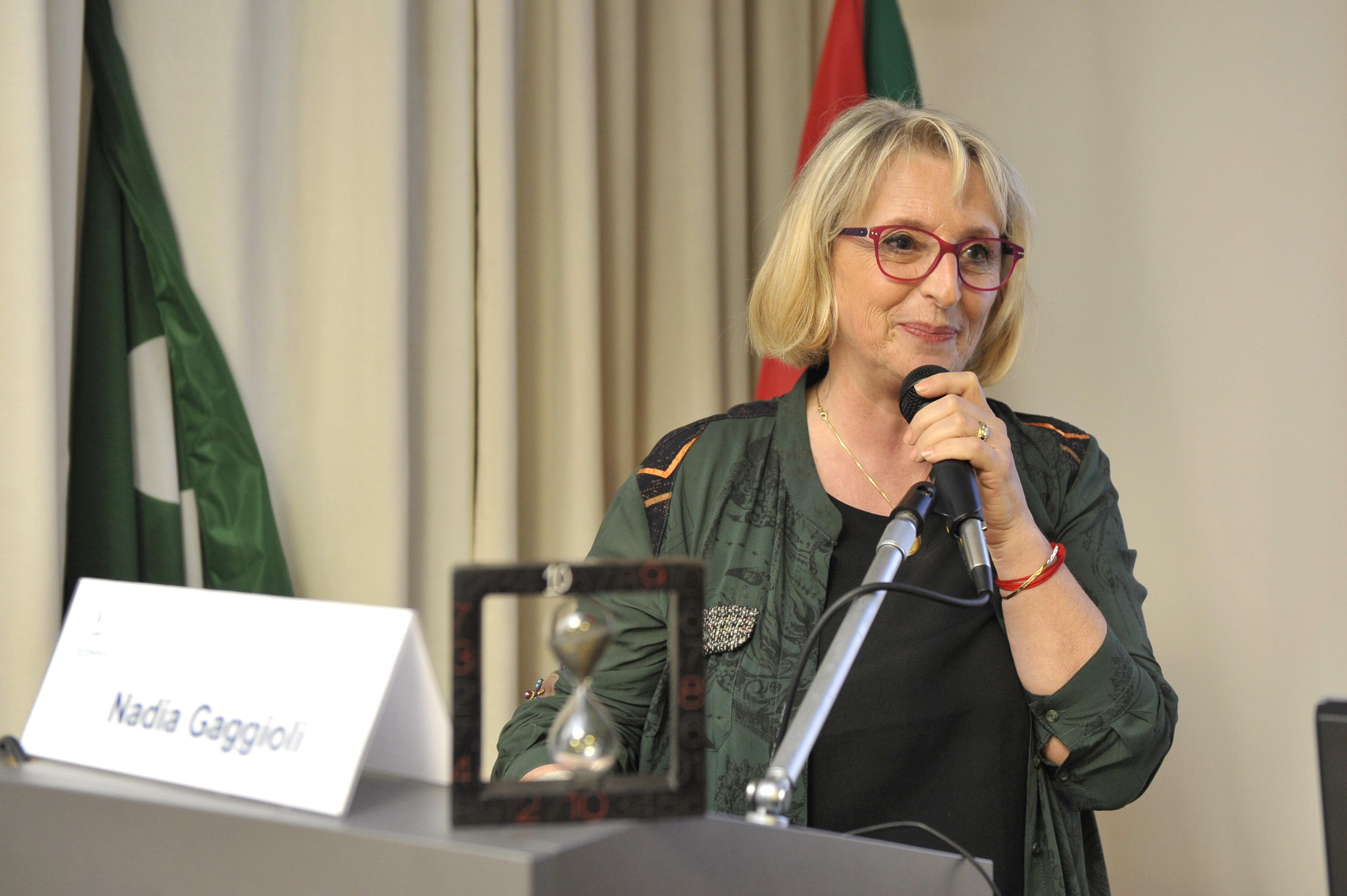 6.6.2015 - Interviene Nadia Gaggioli, Presidente AMMI Onlus