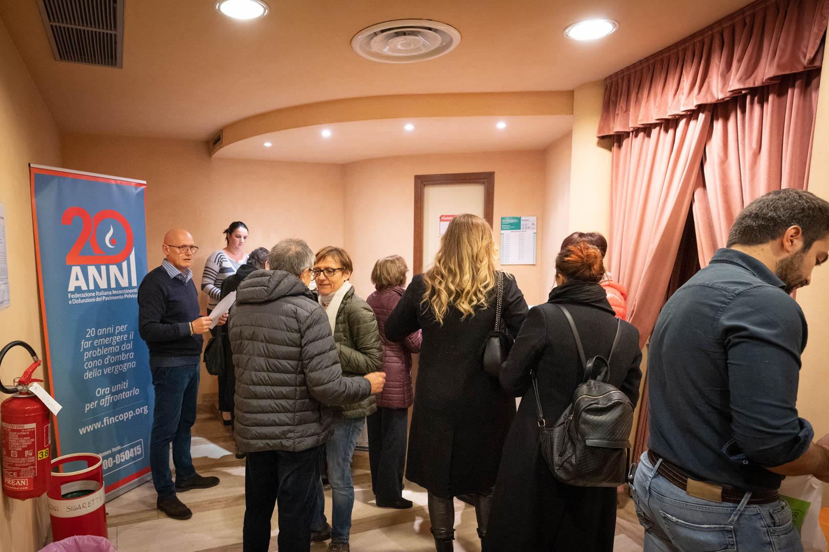 8 - Registrazione dei partecipanti - IL 2° LIBRO BIANCO DELL'INCONTINENZA - Seriate, 20.11.2019