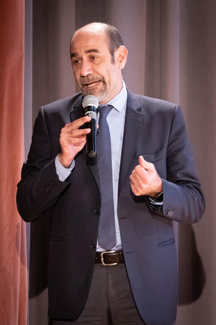 9a - L'Ass. Gabriele Cortesi porta i saluti della Città di Seriate - IL 2° LIBRO BIANCO DELL'INCONTINENZA - Seriate, 20.11.2019