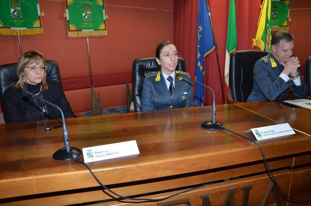 La Dott.ssa Britta, il Cap. Med. Di Giamberardino, Il Gen. B. Bonifacio Bertetti