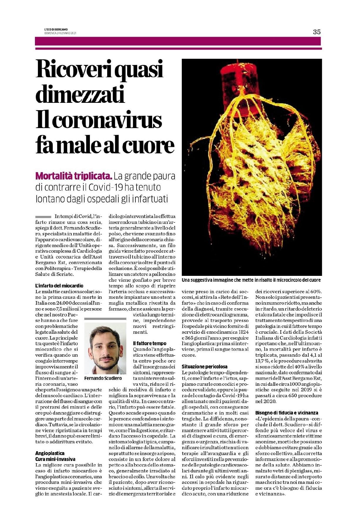 L'Eco di Bergamo - 24.01.2021 - Scudiero, infarto - Completo_page-0001