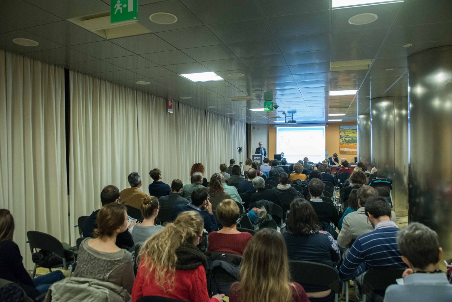 21.11.2015 - Bergamo, Convegno Vaccinazioni in età pediatrica - La sala