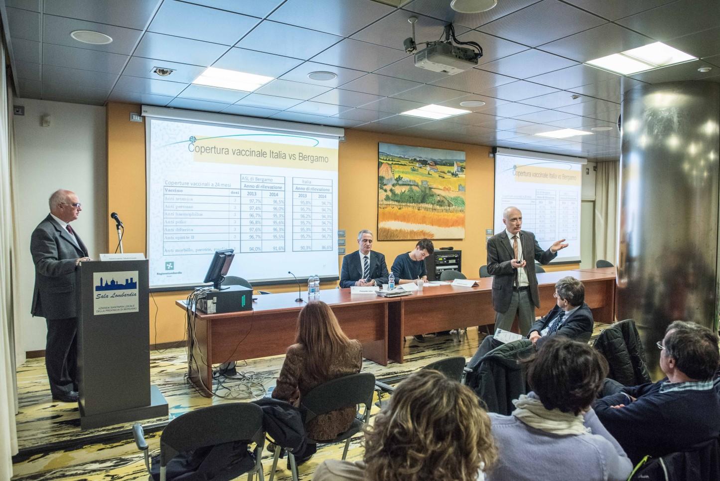 21.11.2015 - Bergamo, Convegno Vaccinazioni in età pediatrica - Discussione