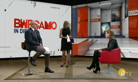 Valeria Perego ospite di Bergamo TV