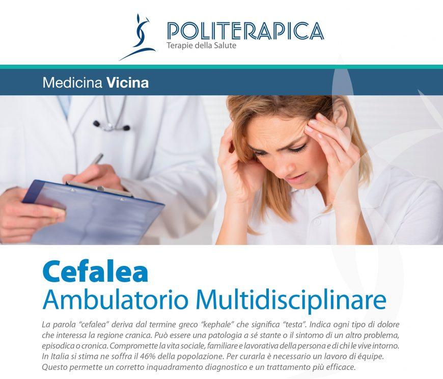 Ambulatorio Multidisciplinare Cefalea in Politerapica