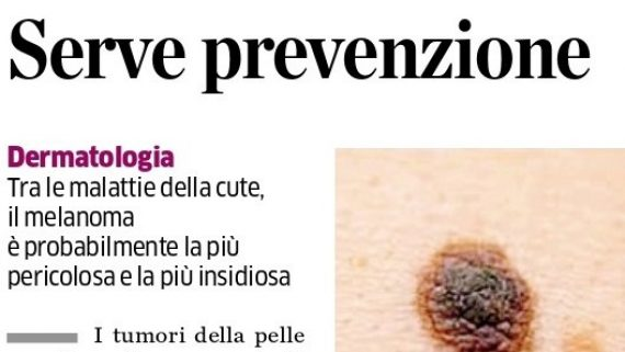 Eco su Ambulatorio Melanoma in Politerapica
