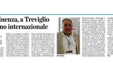 LEco di Bergamo 6.11.2019 - Convegno Treviglio